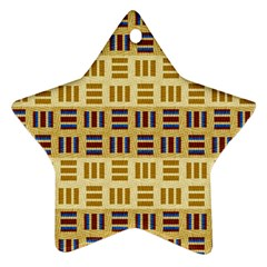 Textile Texture Fabric Material Ornament (star)
