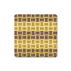 Textile Texture Fabric Material Square Magnet