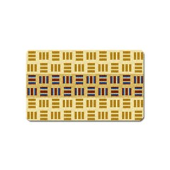 Textile Texture Fabric Material Magnet (name Card)