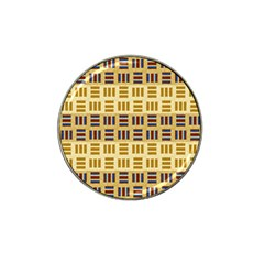 Textile Texture Fabric Material Hat Clip Ball Marker (4 pack)