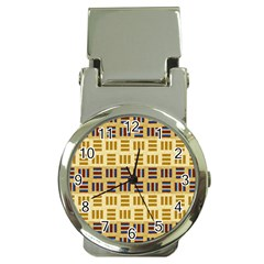 Textile Texture Fabric Material Money Clip Watches