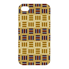 Textile Texture Fabric Material Apple Iphone 4/4s Hardshell Case