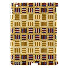 Textile Texture Fabric Material Apple Ipad 3/4 Hardshell Case (compatible With Smart Cover)