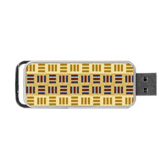 Textile Texture Fabric Material Portable Usb Flash (one Side)