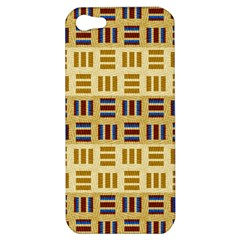 Textile Texture Fabric Material Apple Iphone 5 Hardshell Case