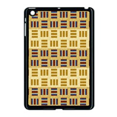 Textile Texture Fabric Material Apple Ipad Mini Case (black)