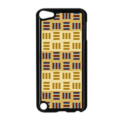 Textile Texture Fabric Material Apple Ipod Touch 5 Case (black)
