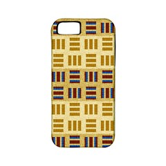 Textile Texture Fabric Material Apple Iphone 5 Classic Hardshell Case (pc+silicone)