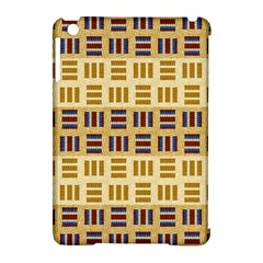 Textile Texture Fabric Material Apple Ipad Mini Hardshell Case (compatible With Smart Cover)