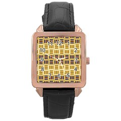 Textile Texture Fabric Material Rose Gold Leather Watch