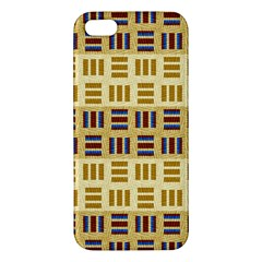 Textile Texture Fabric Material Apple Iphone 5 Premium Hardshell Case