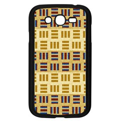 Textile Texture Fabric Material Samsung Galaxy Grand Duos I9082 Case (black)