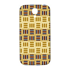 Textile Texture Fabric Material Samsung Galaxy S4 I9500/i9505  Hardshell Back Case