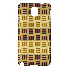 Textile Texture Fabric Material Samsung Galaxy Note 3 N9005 Hardshell Case