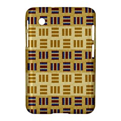 Textile Texture Fabric Material Samsung Galaxy Tab 2 (7 ) P3100 Hardshell Case