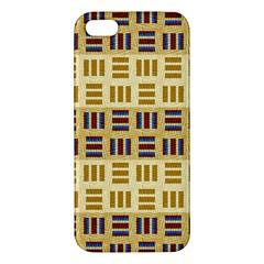 Textile Texture Fabric Material Iphone 5s/ Se Premium Hardshell Case