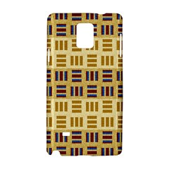 Textile Texture Fabric Material Samsung Galaxy Note 4 Hardshell Case