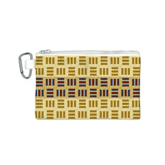 Textile Texture Fabric Material Canvas Cosmetic Bag (s)