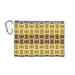 Textile Texture Fabric Material Canvas Cosmetic Bag (m)