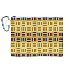 Textile Texture Fabric Material Canvas Cosmetic Bag (xl)