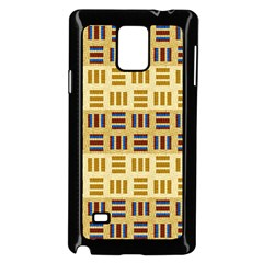 Textile Texture Fabric Material Samsung Galaxy Note 4 Case (black)