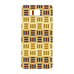 Textile Texture Fabric Material Samsung Galaxy Alpha Hardshell Back Case