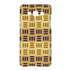 Textile Texture Fabric Material Samsung Galaxy A5 Hardshell Case