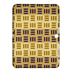 Textile Texture Fabric Material Samsung Galaxy Tab 4 (10.1 ) Hardshell Case