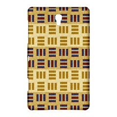 Textile Texture Fabric Material Samsung Galaxy Tab S (8 4 ) Hardshell Case