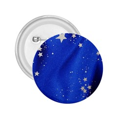 The Substance Blue Fabric Stars 2 25  Buttons