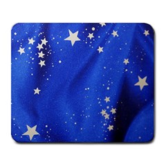 The Substance Blue Fabric Stars Large Mousepads