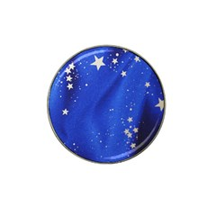 The Substance Blue Fabric Stars Hat Clip Ball Marker (4 Pack)
