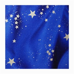The Substance Blue Fabric Stars Medium Glasses Cloth (2-Side)