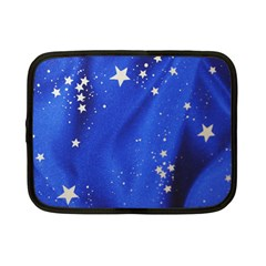 The Substance Blue Fabric Stars Netbook Case (small)