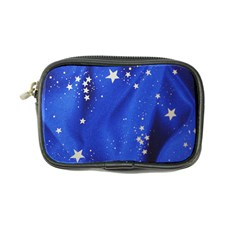 The Substance Blue Fabric Stars Coin Purse