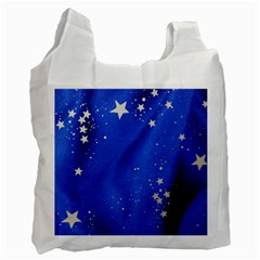 The Substance Blue Fabric Stars Recycle Bag (one Side)