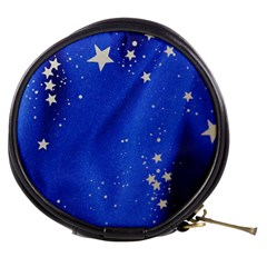 The Substance Blue Fabric Stars Mini Makeup Bags