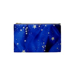 The Substance Blue Fabric Stars Cosmetic Bag (small)