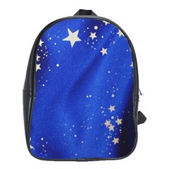 The Substance Blue Fabric Stars School Bags(large)