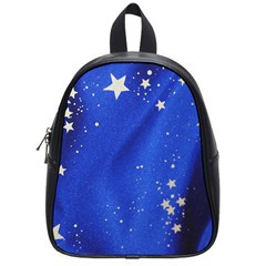 The Substance Blue Fabric Stars School Bags (small)
