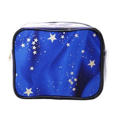 The Substance Blue Fabric Stars Mini Toiletries Bags