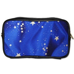 The Substance Blue Fabric Stars Toiletries Bags 2 Side
