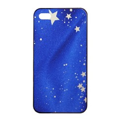 The Substance Blue Fabric Stars Apple Iphone 4/4s Seamless Case (black)