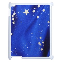 The Substance Blue Fabric Stars Apple Ipad 2 Case (white)