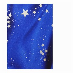 The Substance Blue Fabric Stars Small Garden Flag (two Sides)