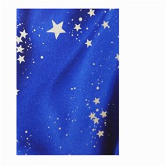 The Substance Blue Fabric Stars Large Garden Flag (two Sides)