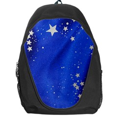 The Substance Blue Fabric Stars Backpack Bag