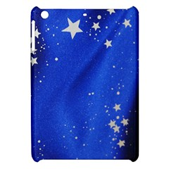 The Substance Blue Fabric Stars Apple Ipad Mini Hardshell Case