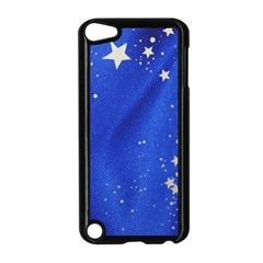 The Substance Blue Fabric Stars Apple Ipod Touch 5 Case (black)