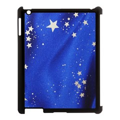 The Substance Blue Fabric Stars Apple Ipad 3/4 Case (black)